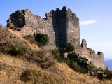 Defensive Walls of Acropolis from Greek-Roman Era  Pergamum  Bergama  Izmir  Turkey