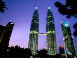 Petronas Twin Towers  Kuala Lumpur  Wilayah Persekutuan  Malaysia