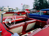 Pemaquid Point  Classic Cars  Maine