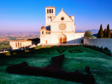 Basilica de San Francisco  Assisi  Umbria  Italy