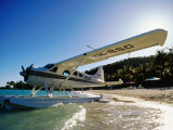 Float Plane on Beach  Hayman Island Resort  Whitsundays  Hayman Island  Queensland  Australia