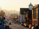 Sunrise on Main Street  Littleon  New Hampshire