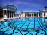 Hearst Castle Outdoor Pool  San Simeon  California