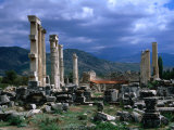 Temple of Aphrodite  from Greek and Roman Eras  Afrodisias  Aydin  Turkey