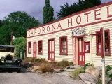 Historic Cardrona Hotel  Built 1863  Wanaka  New Zealand