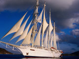 Star Clipper Under Full Sail
