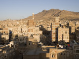 Traditional Houses  Old Town  San'a  Yemen
