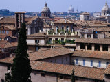 View over Rooftops of Rome from Capitoline Museums  Rome  Lazio  Italy