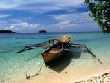 Remote Beach on Pulau Togean  Togian  Central Sulawesi  Indonesia