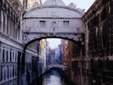 Ponte Dei Sospiri or The Bridge of Sighs  Venice  Italy