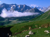 Lautaret Pass  Rhone-Alpes  France