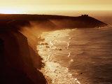Misty Coastline  Sunrise  Kangaroo Island  South Australia