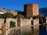 Kizikule Or Red Tower  Alanya  Antalya  Turkey