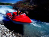 Jet-Boating on Smaller North Branch of Rakaia River  New Zealand