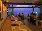 Inside Restaurant by the Beach  Noosa  Queensland  Australia