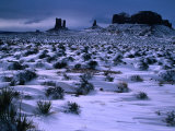 Monument Valley in Winter  Monument Valley Navajo Tribal Park  Arizona
