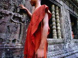 Devastas  Female Deities of Sublime Beauty at Angkor Wat's South Entrance  Cambodia