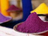 Colourful Tika Powder in Shop  Pushkar  Rajasthan  India