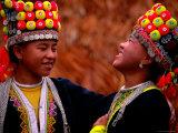 H'mong Girls  Huay Xai  Bokeo  Laos