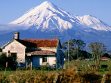 Snow-Capped Mount Taranaki  New Plymouth  New Zealand