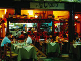 Parrila Type Restaurant in Mercado del Puerto  Montevideo  Uruguay