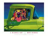I Wanna Go Reproduction d'art par Ron Burns