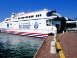 Istanbul to Yalova Ferry Boat at Dock  Istanbul  Turkey
