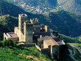 Monastery of Sant Pere de Rodes Near Puerta de la Selva  Girona  Catalonia  Spain