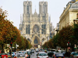 Reims Cathedral  Reims  Champagne-Ardenne  France
