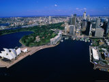Opera House and the Beautiful Harbour of Sydney  New South Wales  Australia