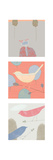 Yard Birds Triptych