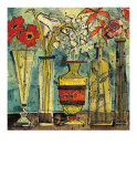 Flowers In Ceramic And Glass I