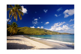 Tranquil Magens Beach  St Thomas  Virgin Islands