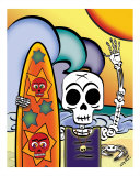El Surfeador - The Skeleton Surfer