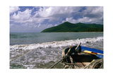 Fishing Boat on Maunabo Beach  Puerto Rico