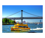 New York City Water Taxi on the East River