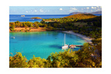 Salomon Bay  Saint John  US Virgin Islands