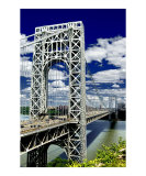 George Washington Bridge on a Glorious Day