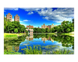 Reflections at the Harlem Meer  NYC