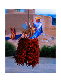 Chile Ristras of Taos  New Mexico