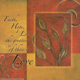 Spice Blocks  Faith Hope Love