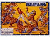 Dompteurs de Tigres  Cirque d'Hiver