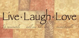 Words to Live By: Live Laugh Love