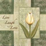 Tulips  Live Laugh Love