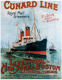 Cunard Line  Liverpool to New York