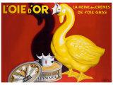 L'Oie d'Or Giclée par Leonetto Cappiello