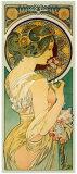 La Primevere Giclée par Alphonse Mucha