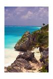 Rocky Cove  Tulum Beach  Yucatan  Mexico