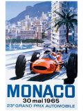 Grand Prix de Monaco, 30mai1965 Giclée