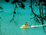 Jet Ski on the Sea at Konnos Beach  Protaras  Cypress